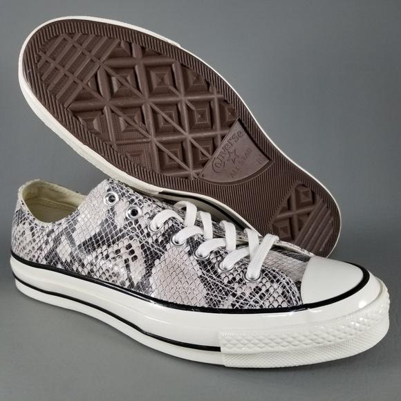 b6a52352a566 Converse CTAS Chuck 70 Ox Sneakers 8.5 Snakeskin